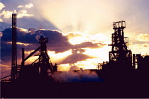 24-11-1999 - Port Talbot steelworks, formerly British Steel and now run by Corus, near Swansea,Wales. © David Mansell
