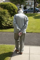 11-05-2009 - An elderly 87 year old man, who has become very frail. © David Mansell