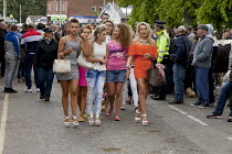 06-06-2015 - Appleby Horse Fair, Cumbria, the most important place to be seen if you are young. Gypsy and the Travelling community have strict moral codes for their young people and visiting the Fair is the one oc... © David Mansell