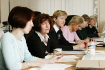01-02-2005 - The Leigh Park Family School Support Team (Fasst) is based in Havant, Hampshire, a vitual multi agency team set up to support pupils, families and teachers within the area. The team meet once a week a... © David Mansell