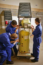 24-11-2005 - Further Education Students FE undertaking a vocational course in solar heating, at Bedford College, Bedfordshire, it is only one of two courses in the whole of the UK to offer this type of training to... © David Mansell