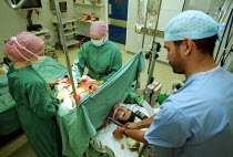 23-10-2001 - Medical staff Preform an operation on an Operation Simulator © Duncan Phillips