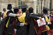 18-05-2010 - University Graduation at Guildhall, in London. © Duncan Phillips