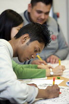 10-10-2005 - Open Day for prospective students at City University in London. © Duncan Phillips