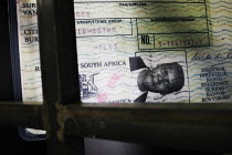 20-04-2005 - Non-white passes in the Apartheid Museum in Johannesburg, South Africa. © Gerry McCann