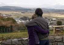 19-03-2013 - A couple taking in the a view of the Snowdonia National Park. © John Harris