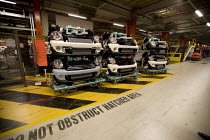 24-10-2012 - Front ends ready for assemble. BMW Group Mini production line, Cowley, Oxford © John Harris