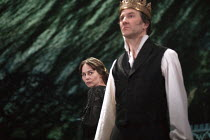 28-01-2013 - Jo Stone-Fewings as Leontes and Tara Fitzgerald as Hermione in The Winters Tale. RSC, Swan, Stratford-upon-Avon © John Harris