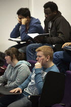 21-02-2013 - Students in a lecture, Faculty of Engineering and Computing, Coventry University. © John Harris