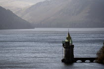 16-04-2013 - The Gothic Straining Tower, Lake Vyrnwy, Severn Trent Water reservoir, Powys, North Wales © John Harris