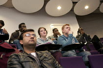 29-04-2013 - Students in a lecture, Faculty of Engineering and Computing, Coventry University. © John Harris