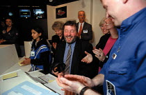 07-12-1999 - David Blunkett MP Labour Sec. of State for Education opening the National Space Science Centre's Challenger Learning Centre Leicester © John Harris