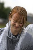 22-06-2004 - ABC News Journalist suffers from the effects of CS Gas experienced at a Prime Training Solutions, Public Safety Awareness Course. Greater Manchester Police training facility, Claytonbrook Complex. Gre... © Jess Hurd