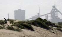 12-05-2009 - The Corus Redcar steelworks at Redcar Co Cleveland which is to be mothballed with the loss of over 2000 jobs after parent company Tata announced the cancellation of 4 major contracts for it's slab ste... © Jess Hurd