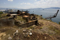17-06-2011 - Abandoned and disused buildings around the port of Pireaus, Athens. Greece. © Jess Hurd