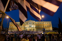 18-06-2011 - Demonstrations against austerity measures. Syntagma Square, Athens, Greece. © Jess Hurd