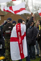04-05-2013 - English Defence League march against a proposed Muslim community Centre, Moortown, Leeds. © Jess Hurd