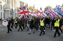 09-11-2014 - National Front Remembrance Day march to the Cenataph, Whitehall. London. © Jess Hurd