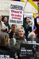 20-10-2015 - Free Tibet human rights protest state visit of Chinese president Xi Jinping London © Jess Hurd