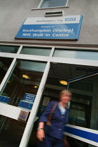 08-10-2004 - Southampton NHS Walk In Centre, before being closed in 2009 in a local NHS cost cutting exercise © Paul Carter