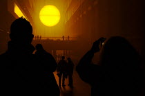 09-11-2003 - The Weather Project, the fourth in the annual Unilever. Series of commissions for the Turbine Hall, Olafur Eliasson takes this ubiquitous subject as the basis for exploring ideas about experience, med... © Paul Carter