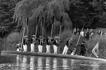 04-06-1990 - A rowing ceremony on the Thames, as part of the Fourth of June Celebrations at Eton College © John Sturrock