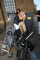 27-10-2009 - The Second Battalion The Royal Regiment Of Fusiliers (2 RRF) return to their home base in Hounslow after a six months tour of duty in Afghanistan Helmand province. West London. © Justin Tallis