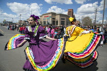 04-05-2014 - Detroit, Michigan - The annual Cinco de Mayo parade in the Mexican-American neighborhood of southwest Detroit. © Jim West