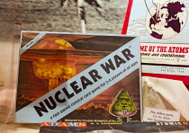 12-10-2015 - Los Alamos, New Mexico - A display at the Los Alamos Historical Museum. The museum contains artifacts and information about the Manhattan Project, which produced the world's first atomic bomb. Nuclear... © Jim West