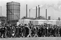 01-11-1979 - Protest against rundown and closure of the steelworks, Corby 1979 © Peter Arkell