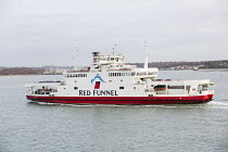 07-01-2015 - Red Funnel car ferry, Southampton © Paul Box