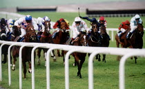 14-02-2002 - Horseracing Chepstow Racecourse. © Paul Box