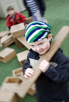 21-07-2007 - New outdoor play area, at Hungerford Nursery School in Berkshire. © Paul Box