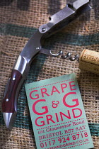 15-07-2014 - Corkscrew. Grape And Grind Independent wine and beer shop, Gloucester rd, Bristol. © Paul Box