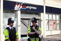 25-04-2011 - New Tesco store in Stokes Croft, Bristol was smashed up in anti Tesco riot © Paul Box