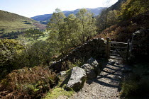 28-10-2010 - The Minffordd Path. Cader Idris or Cadair Idris mountain, situated in the Snowdonia National Park, North Wales. © Paul Box