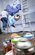 05-28-2013 - Cheo, UpFest 2013 Europe's largest live urban arts festival with over 250 of the most groundbreaking graffiti artists from all around the world. Southville, Bristol. © Paul Box