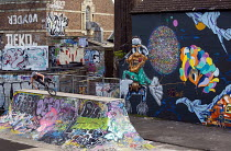 05-31-2013 - UpFest 2013 Europes largest live urban arts festival with over 250 of the most groundbreaking graffiti artists from all around the world. Southville, Bristol. © Paul Box