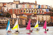 03-12-2014 - Harbourside sailing school sailing club, Bristol, European Green Capital. © Paul Box