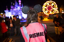 27-08-2015 - Dismaland a parody of Disneyland theme park by Banksy, Weston Super Mare. A Bemusement Park staffed by morose Dismaland guides who are uninterested in being helpful or remotely informative and Dismal... © Paul Box