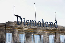 07-09-2015 - Dismaland a parody of Disneyland theme park by Banksy, Weston Super Mare. A Bemusement Park. © Paul Box