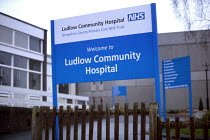 07-01-2006 - Ludlow Hospital, a community hospital. The hospital faces closure as the Shropshire County Primary Care Trust needs to make cuts. © Paul Box