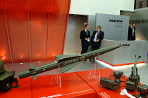 09-09-2003 - MBDA Missile Systems stand at the Defence Systems and Equipment International Exhibition, Docklands, London 9/9/03. © Philip Wolmuth