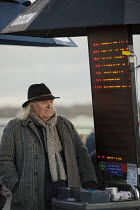 09-12-2011 - On-course bookmaker at Doncaster racecourse. © Philip Wolmuth