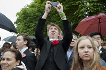 29-05-2013 - Annual Eton College Procession of Boats ceremony on the River Thames. © Philip Wolmuth