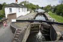23-04-2014 - The Conservation Area around Widewater Lock on the Grand Union canal in Hillingdon will be affected by its proximity to the proposed route of the HS2 high speed rail line. © Philip Wolmuth