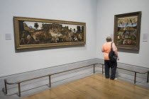 08-19-2014 - Visitors to the National Gallery in London © Philip Wolmuth