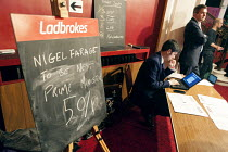 27-02-2015 - Ladbrokes stall, UKIP Spring Conference, Margate, Kent. © Philip Wolmuth