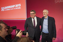 12-09-2015 - Tom Watson & Jeremy Corbyn win Labour Party leadership elections Westminster London © Philip Wolmuth