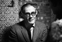 30-11-1970 - Robert Lowell, US poet, considered the founder of the Confessional Poetry movement, 1970 © Gail Clarke Hall